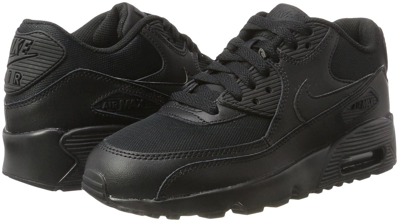 Nike Air Max Womens NIKE sneakers AIR MAX 90 MESH GS Air Max 833418 400 shoes Navy [11 26 new in stock]
