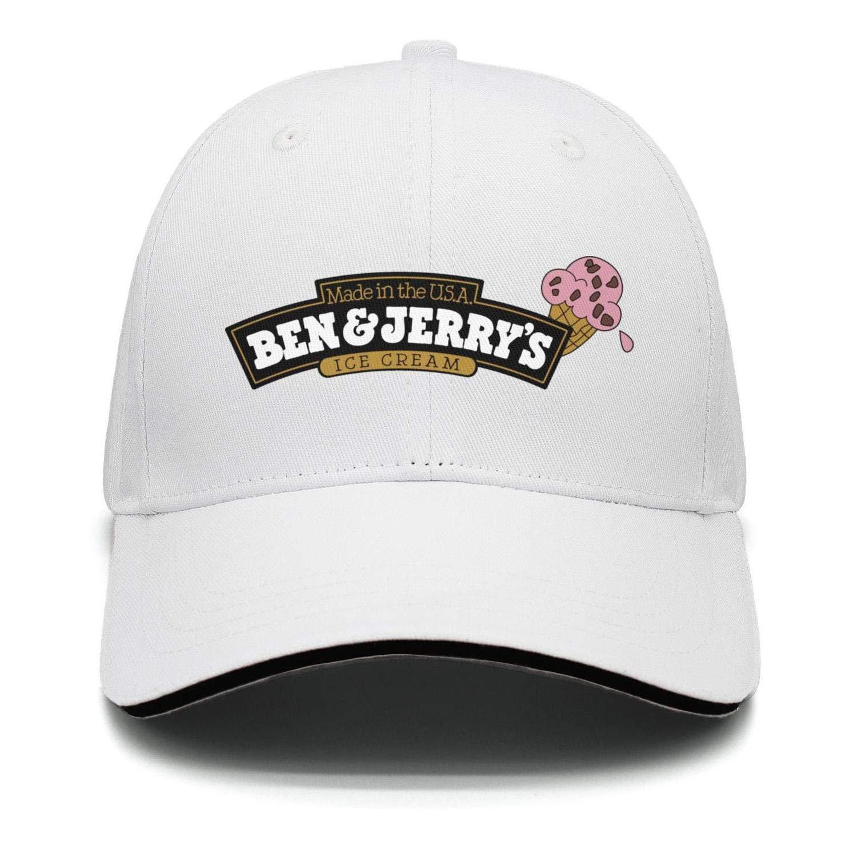 Unisex Outdoor Cap Trucker One Size-Ben-/&-Jerry/'S-Snapback Cotton Hat Printed