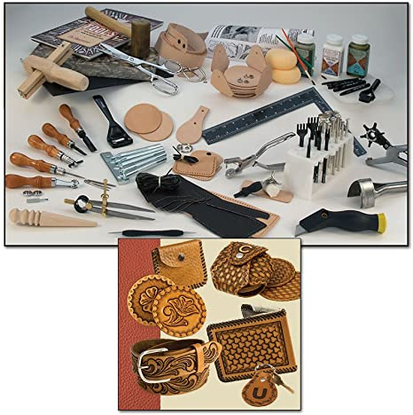 Tandy Basic Leather Stamping Set