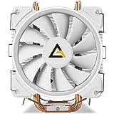 Antec CPU Cooler, C400 Glacial 120mm Pure White LED for Intel LGA 775/1150/ 1151/1155/ 1156/1366/ 2011/2066 & AMD Socket…