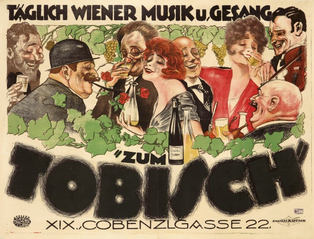 Zum Tobischヴィンテージポスター(アーティスト: Bayer Pollock )オーストリアC。1922 36 x 54 Giclee Print LANT-65277-36x54 B01M4MN2DO  36 x 54 Giclee Print