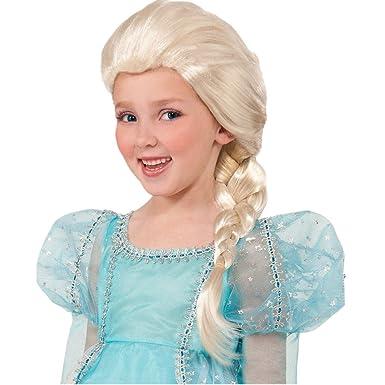 GenialES® Disfraz de Peluca Infantil Larga Plateada Longitud 92cm en Trenza para Cumpleaños Carnaval Cosplay Halloween a Partir de 5 Años: Amazon.es: Ropa y ...