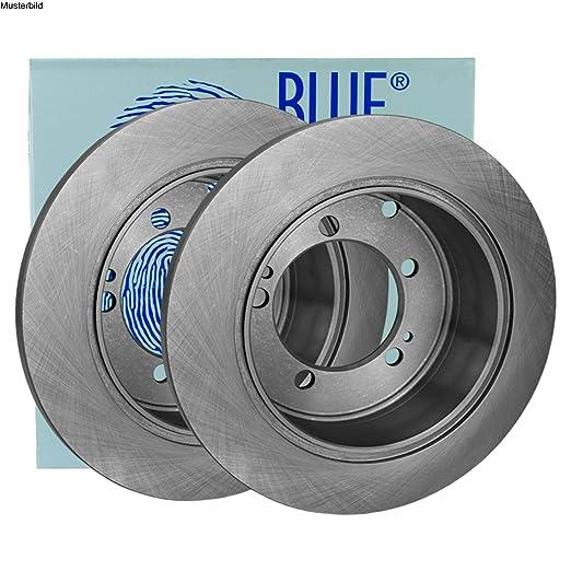 2x BLUE PRINT Bremsscheibe Hinten