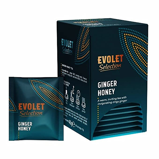 EVOLET Selection, Té de Jengibre y Miel (Ginger & Honey Tea ...
