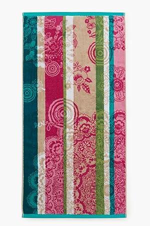 Lote de 2 toallas 50 x 100 + 30 x 50 jacquard sweet Mandala - Desigual: Amazon.es: Hogar