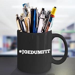JOEDUMFIT BLACK 11 Oz Coffee Mug