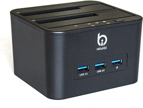 Finerolls- HDD/SSD Docking Station de USB 3.0 para 2.5/ 3.5 Base ...