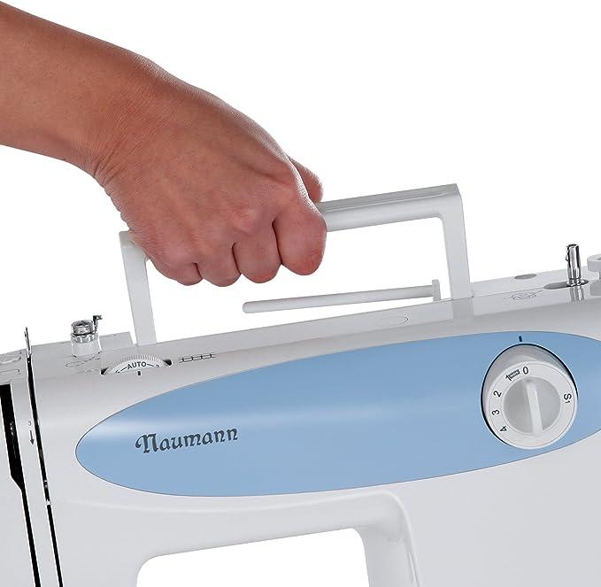 Naumann 83A0 - Máquina de Coser con Accesorios, Color Azul: Amazon ...