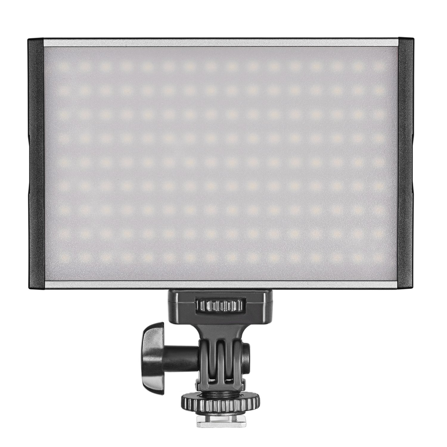Ultra-thin Bi-color Temperature 3200K-5600K LED Light for Canon Nikon Sony Pentax Panasonic Olympus DSLR Neewer 144 LED PT-15B PRO Dimmable Camera//Camcorder Video Light Panel with Hot Shoe