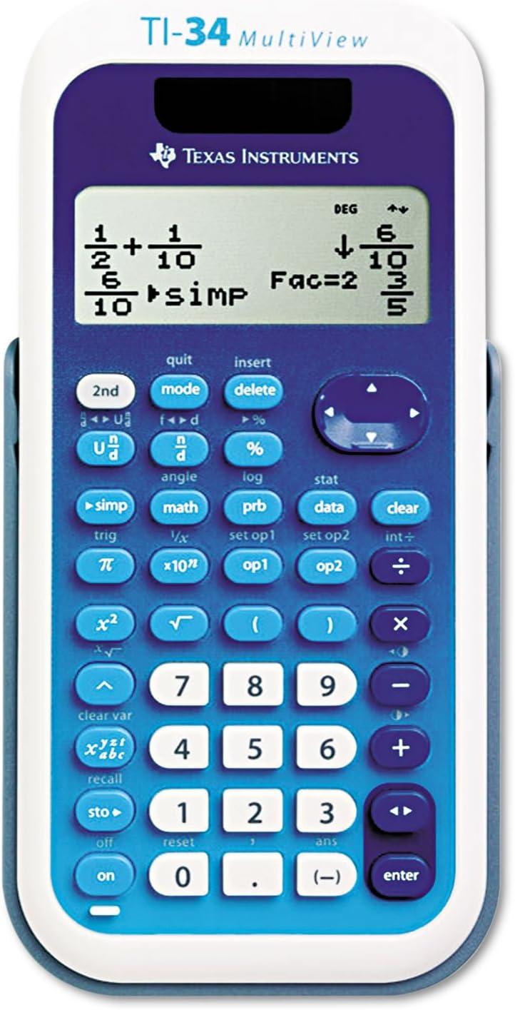 Best ti-34 multiview scientific calculator 2020