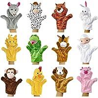 Alpacasso Conjunto de Marionetas de Mano de Felpa