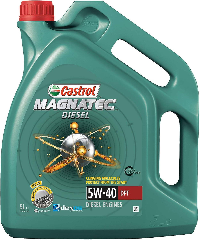 Castrol Magnatec Diesel Motorenöl 5w 40 Dpf 5l Auto