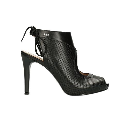 NERO GIARDINI sandali donna nr.36 pelle nero P805440DE 5440