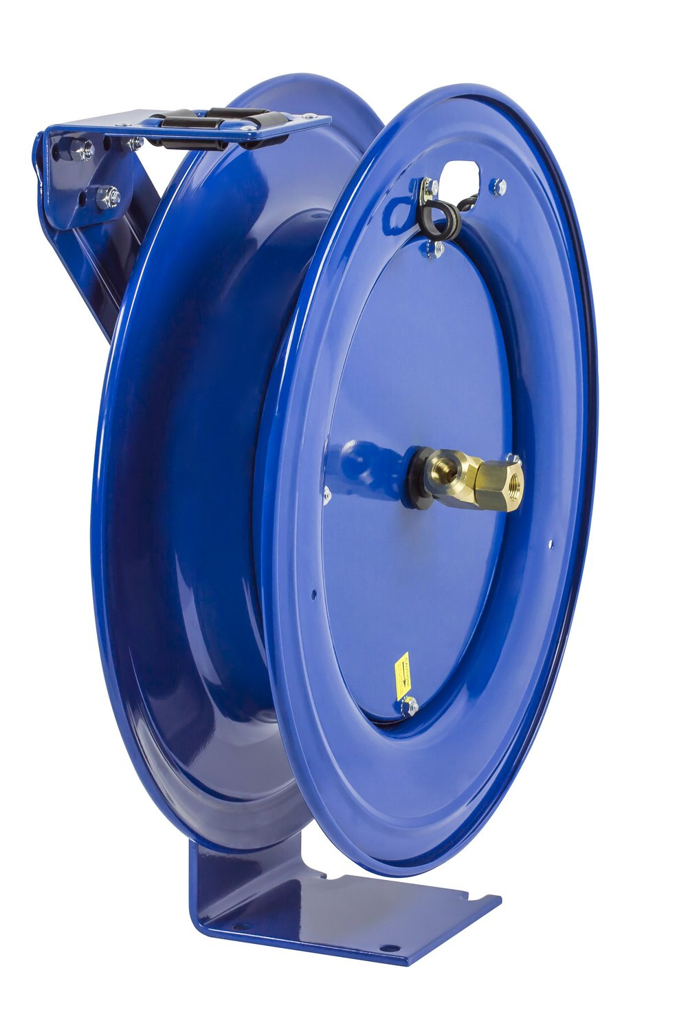 50 hose capacity less hose Coxreels HPL-N-150 Heavy Duty Spring Rewind Hose Reel for grease//hydraulic oil: 1//4 I.D. 5000 PSI 50/' hose capacity