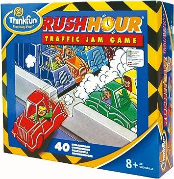 Thinkfun 855008 Rush Hour - Juego de mesa, versión escandinava [importado de Alemania]: Amazon.es: Juguetes y juegos