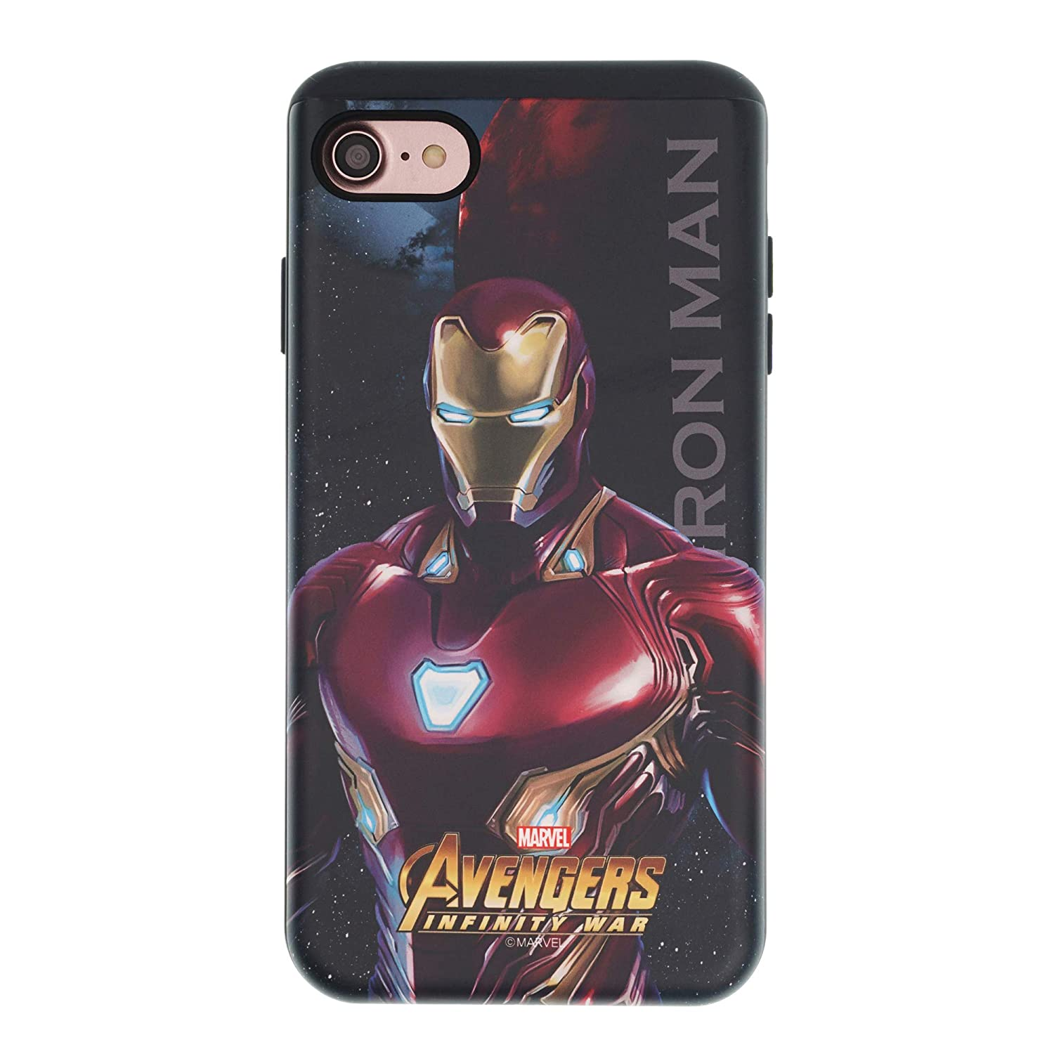 huge selection of 2ccf4 a063f iPhone 8 Plus/iPhone 7 Plus Case Marvel Avengers Infinity War Layered  Hybrid [TPU + PC] Shock Absorption Bumper Cover for [ iPhone 8 Plus/iPhone  7 ...