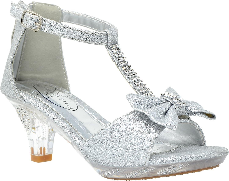 sequin sandal heels