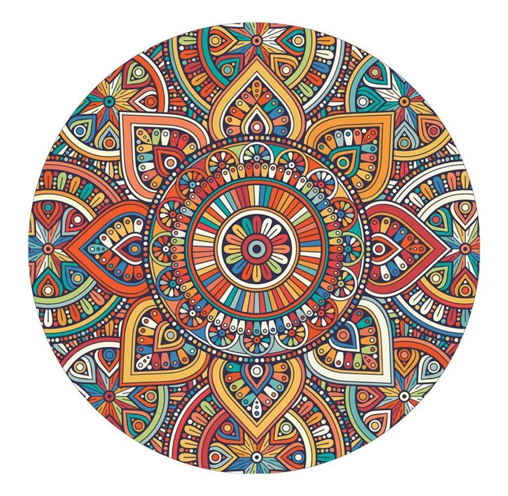 Kreative Mode Runde Teppich Teppich für Wohnzimmer Schlafzimmer Nachttisch Kaffeetisch Korb Stuhl Kissen Nordischen Stil (Farbe    6, größe   Diameter 200cm)