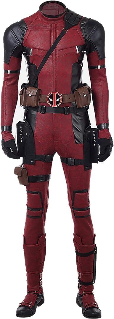 Halloween  Deadpool Costume Cosplay Belt Sword Holsters Prop Kit Accessories