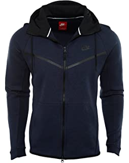 329f08a8a5f4 Nike Men s Sportswear Tech Fleece Windrunner Hoodie (805144-473) - Obsidian  Heather