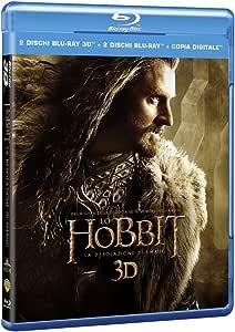 lo hobbit - la desolazione di smaug (3d) (2 blu-ray 3d+2 blu-ray) blu_ray Italian Import