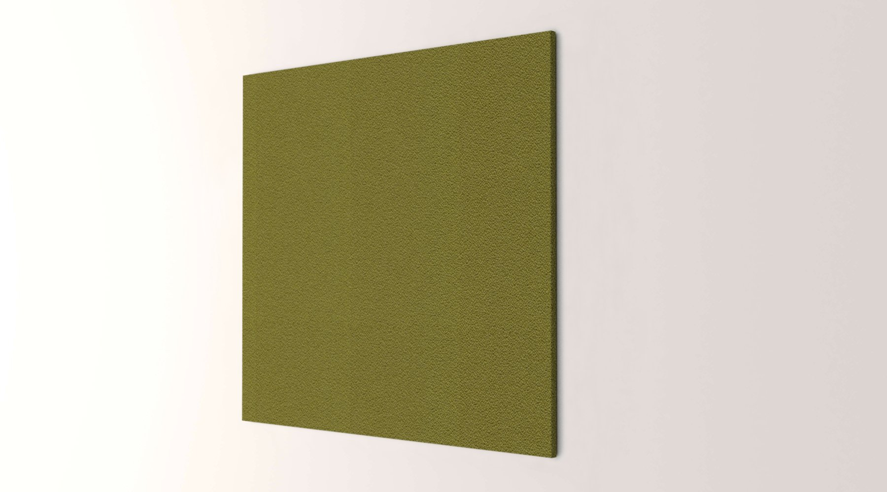 Obex 48X48-TB-S-VE 48'' x 48'' Obex Square Tackboard, Verde, 48'' x 48''