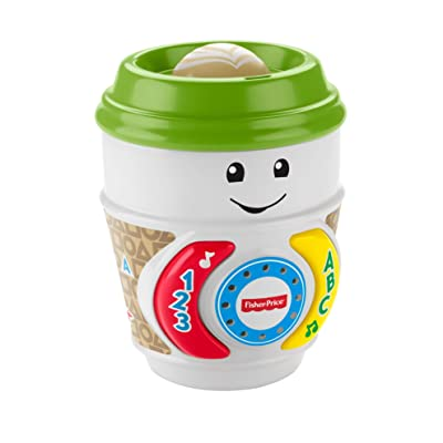 Fisher-Price Laugh & Learn On-the-Glow Coffee Cup, Multicolor: Toys & Games