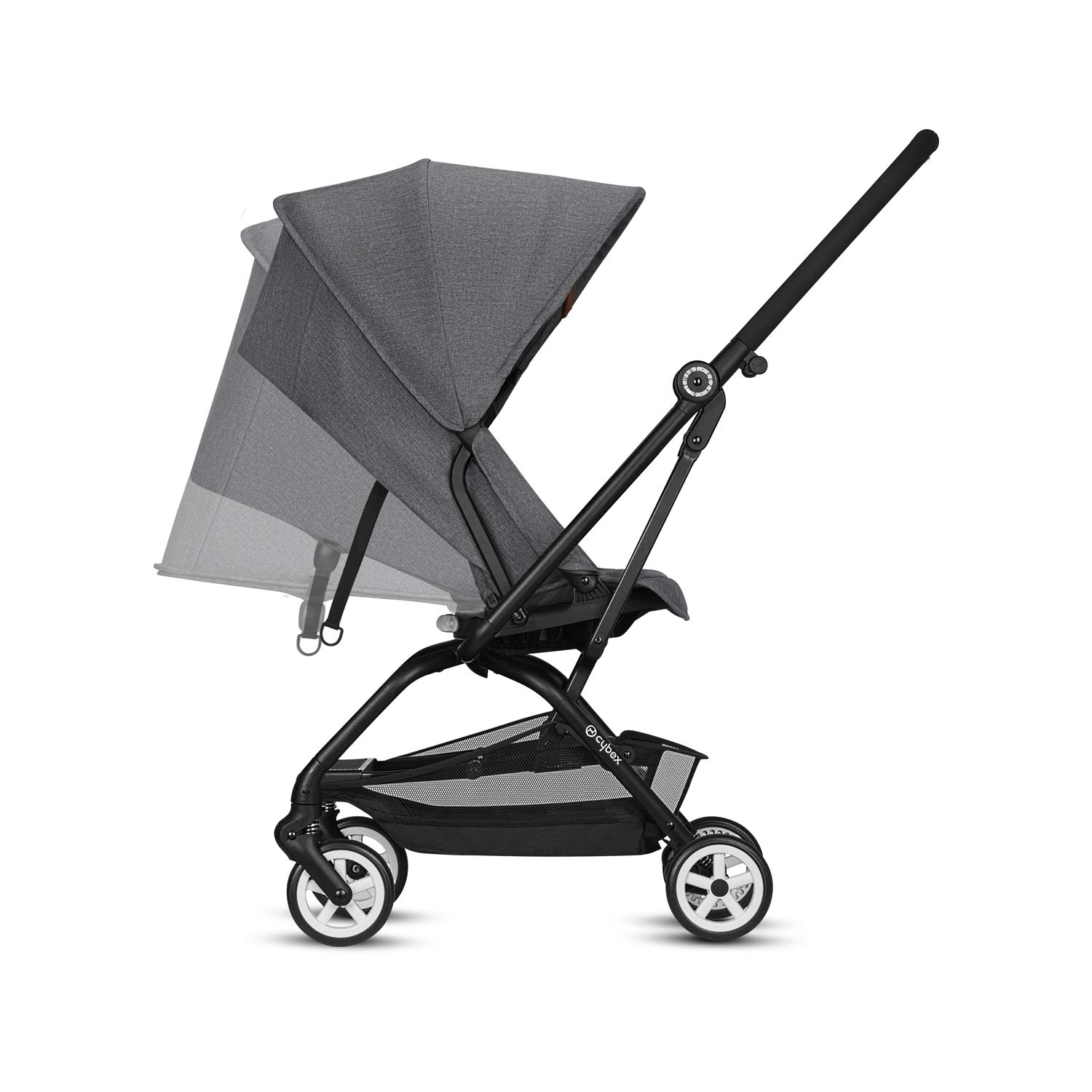 Amazon.com : Cybex 2018 Eezy S Twist Manhattan Grey : Baby