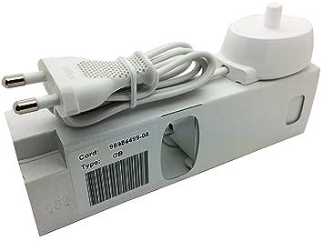 Adaptador de alimentación de Tipo 3757, para carga de cepillo de dientes eléctrico Braun Oral-B, 220 V: Amazon.es: Equipaje