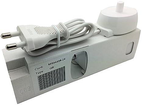 Adaptador de alimentación de Tipo 3757, para carga de cepillo de dientes elé