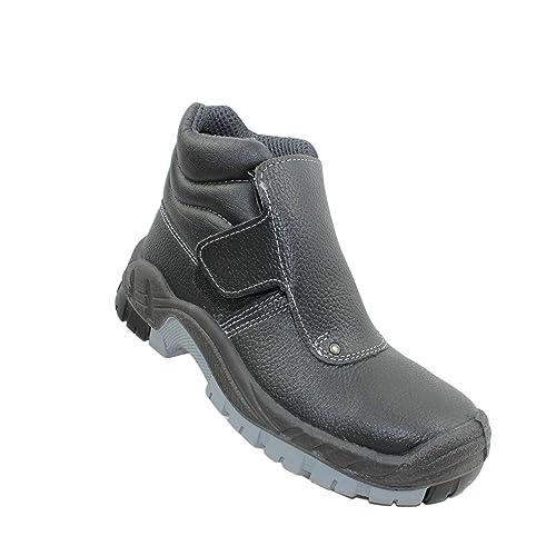 Zapatos de Seguridad fusión Phebus S3 HRO SRC Zapatos Zapatos de Soldadura instaladores de techos Altos Zapatos Negro Funcionan: Amazon.es: Zapatos y ...