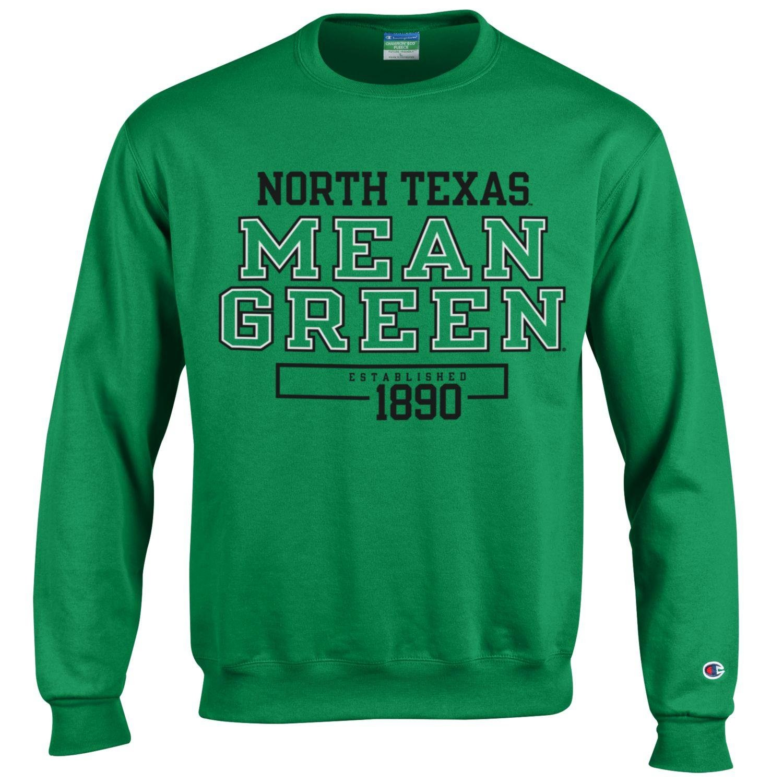 Champion NCAA Unisex NCAA Mens Long Sleeve Eco Powerblend Sweatshirt Unisex Officially Licensed Crewneck Fleece