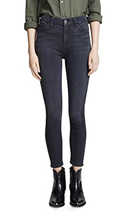 4e66c51d163bfb Amazon.com: 7 For All Mankind Women's The B(air) High Waisted Ankle Skinny  Jeans: Clothing