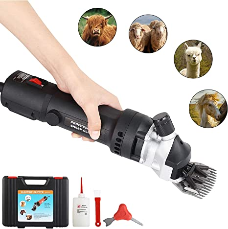 Electric Sheep Shears Goat Clippers Farm Livestock Shearing Grooming Supplies