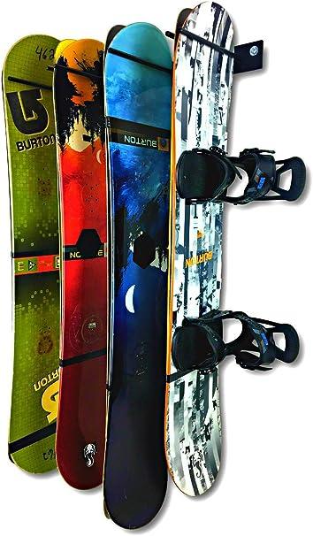 Wall Mount Wall Bracket Mount Shelf Storage for Snowboard Board Boots