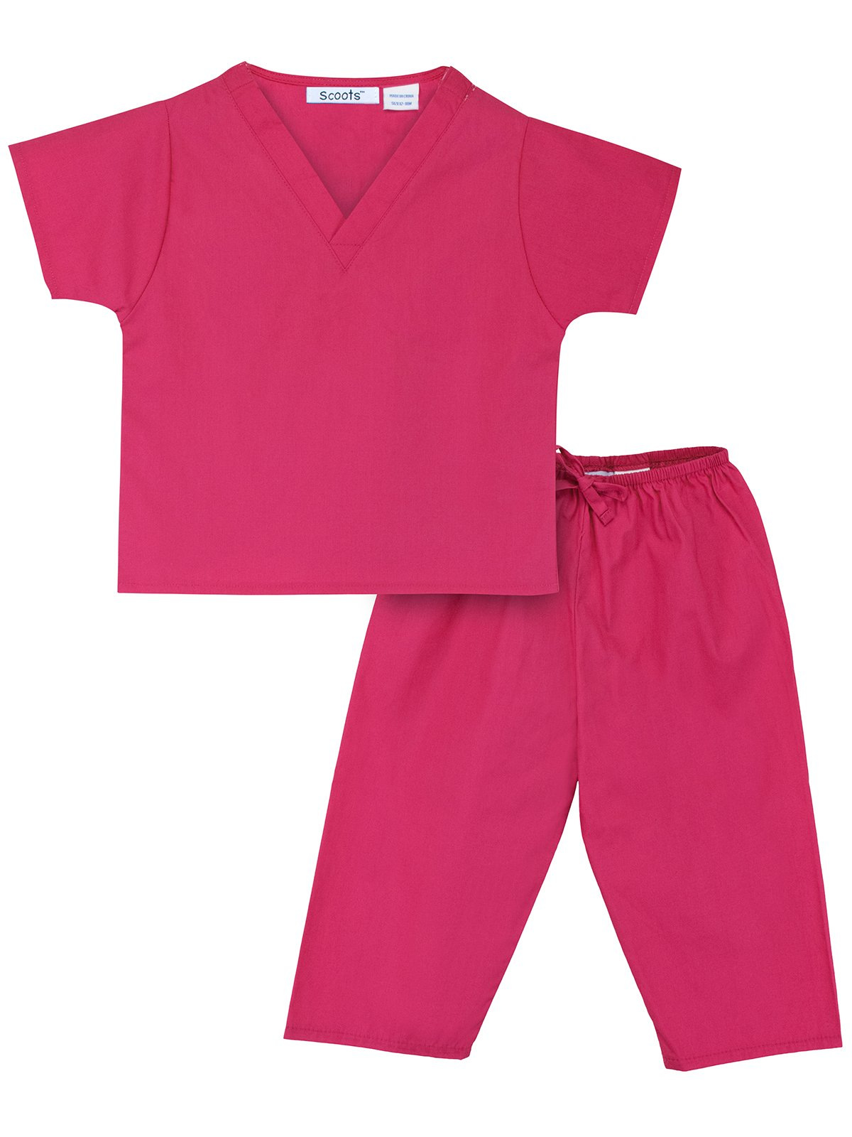 Scoots Toddler Scrubs Size 3T, Pink