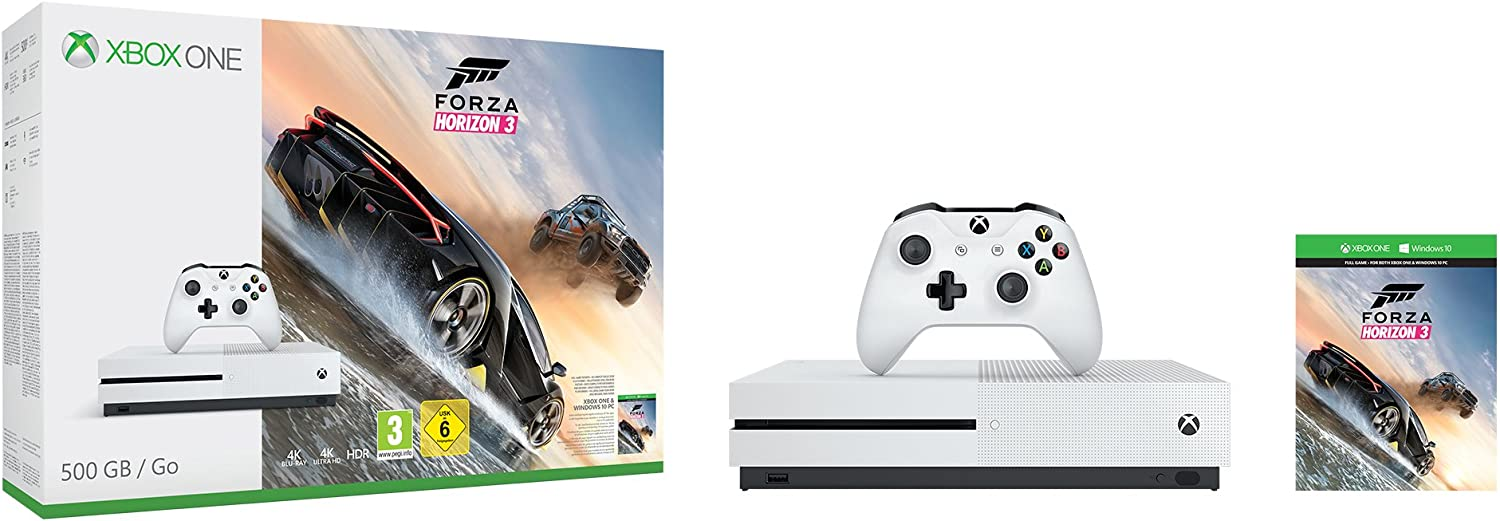 Xbox One S - Consola De 500 GB + Forza Horizon 3: Amazon.es ...