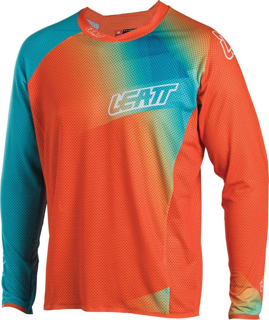 Leatt Downhill-Jersey DBX 4.0 Ultraweld Orange Gr. S