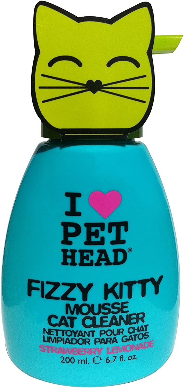 Pet Head Inc Strawberry Lemonade Fizzy Kitty Mousse Cat Cleaner