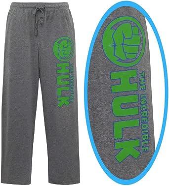 Incredible Hulk Fist Men/'s Pajama Pants Heather Grey