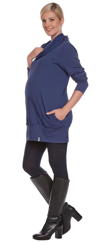 Be! Mama - Sweater de maternidad para mujer  maternidad dbce92cde5a5