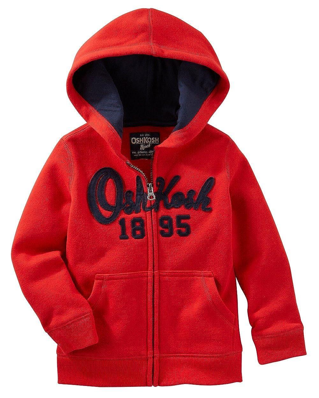 OshKosh Baby-Boys Full Zip Logo Hoodie Osh Kosh