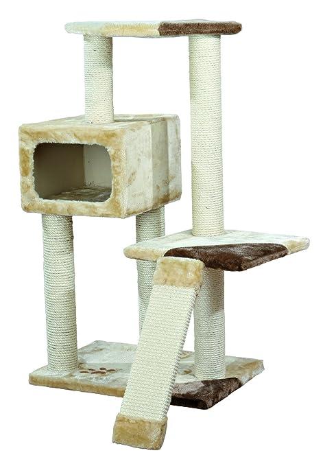 Amazon.com: Rascador para gatos TRIXIE Almeria, 41.7 inch ...