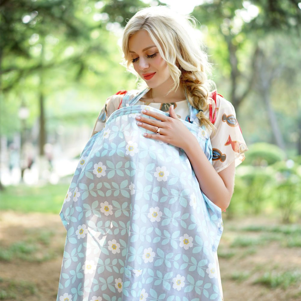 style10 Gina Era Nursing Cover Infant Breathable Privacy Breast Cover 100/% cotton