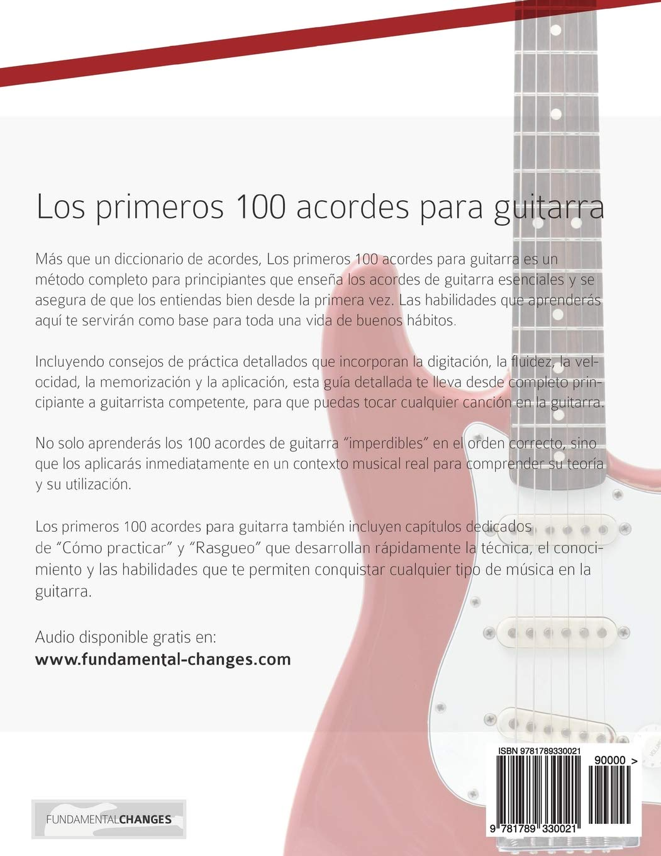 Los primeros 100 acordes para guitarra: Cómo aprender y tocar ...