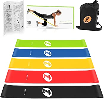 Etoplus Set-of-5 Exercise Resistance Bands