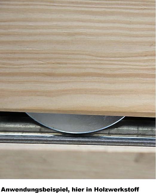 Euro Tische LaufrolleMöbelrollen aus Stahl Größe (70 mm