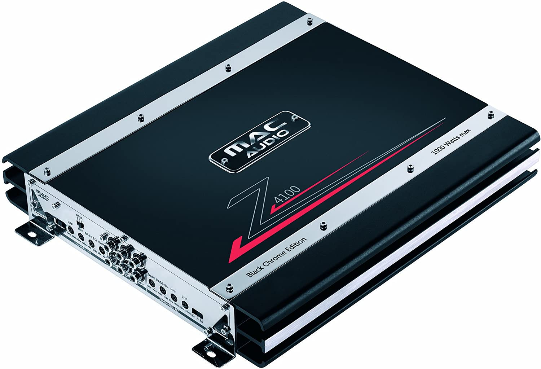 Mac Audio Z 4100 Black Edition Chrome 4 1 Car Hifi Amplifier 4 X 160 W Amazon Co Uk Electronics