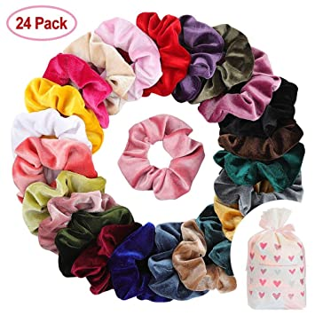 Beauty & Health Head Rope 10 Pcs Velvet Elastic Hair Bands Scrunchy For Women Or Girls Hair Accessories Velvet Hair Scrunchies Hair Band Fashion To Be Distributed All Over The World Braiders