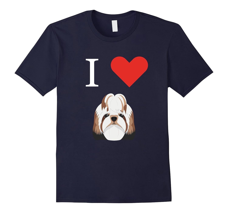 I Love My Shih tzu Dog T-Shirt-RT